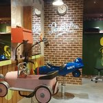 Cute barber shop for kids..