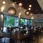 Fine dining at Navo) nice ambience, food is ok