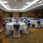 Another view of ballroom setup