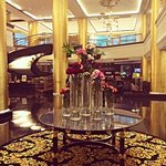 Lobby of the Dusit Thani. It always smells like flowers!