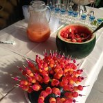fresh fruits smoothie / we were invited to join a private cocktail