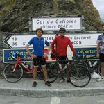Quick trip up the Galibier from Hotel Bianca