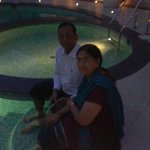 In Pool Area