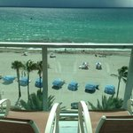 View from the 5th floor Oceanfront suite