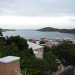 View straight over Charlotte Amalie.