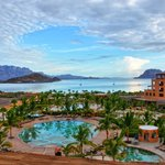 Sunrise over Villa del Palmar