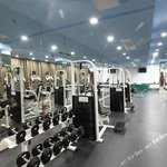 Scam busted : photo of gym on the hotel website but there is no gym in reality