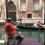 Friendly Gondolier