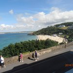 View from room over Porthminster Beach