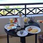 Champagne Breakfast on Honeymoon Package