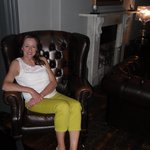 In the drawing room