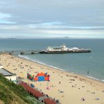 The Bournemouth Beach