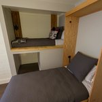 Extra sleeping areas include Murphy Beds and Sleeping Alcoves (varies by unit)