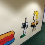 Hallway to Camp Snoopy Rooms