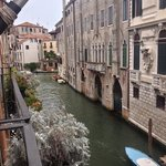 view from casa pisani canal junior suite