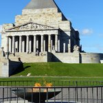Shrine of Remembrance Foto