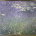 MONET and hisgiant lily pond