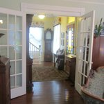 Victorian house foyer