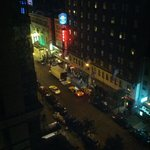 Street view from our room
