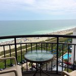 Traditional Oceanview King 1205: View from Balcony Ocean side