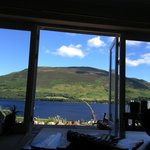View from Briar Steading after waking up from a snooze on the sofa. :-)