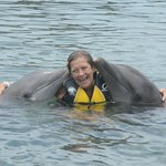 My first dolphin kiss ;-)
