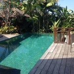 Private pool at villa 3A