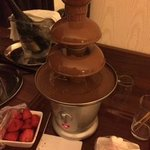 Chocolate fountain in the Romance Package - not necessary really.