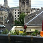 Terrasse privative en plein coeur de Rouen