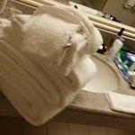 Housekeeping Towel Placement