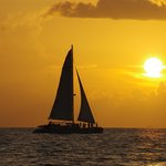 Sunset Wind and Wine cruise with Danger Charters