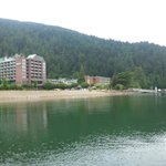 Harrison hot springs water view