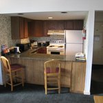 A large full kitchen Did I mention $87/night?