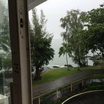 Hilo Naniloa Hotel Grounds from room