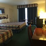 double queen beds, Room 302