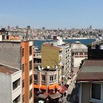Another photo from balcony to Golden Horn