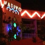 Entrance of the Nativo Hotel in Albuquerque