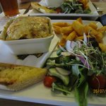 Lasagne Meal at the Rashleigh