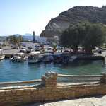 Agia Galini harbour.