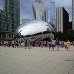 Millenium Park, downtown Chicago