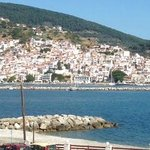 Skopelos Town from Room