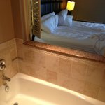 King Suite Bathroom - Say Hello from the tub!