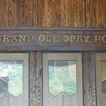 Entrance to the Grand Ole' Opry