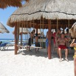 One of the many beach bars on Grand Bahia Principe