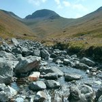 Great Gable; mountain water is wonderfully drinkable