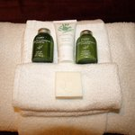 Lemon grass amenities