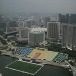 Marina Bay Sands Skypark - view