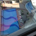 The pool from the room