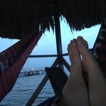 Hammocks on the pier:)
