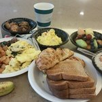 Glorious breakfast spread at Homewood Suites Frisco,  15 June 2014.